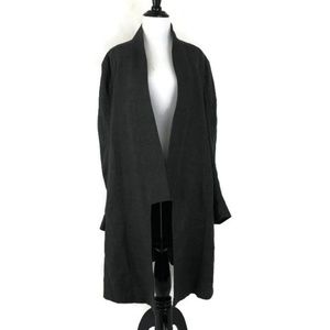 Theyskens' Theory Fina Magot Belted Coat Size M